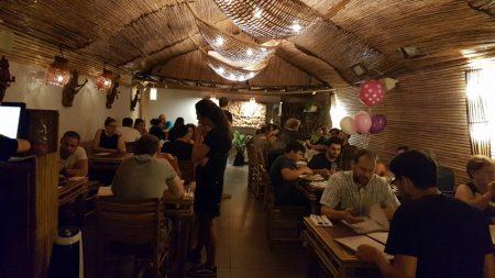 The interior of Thai House Restaurant